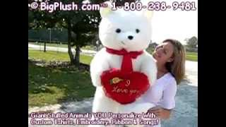 giant valentine teddy bear i love you heart for valentines day or any day 3 1 2 feet tall