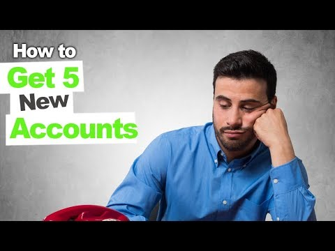 How to Get 5 New Cleaning Accounts  for a Brand New Company in 2 Days
