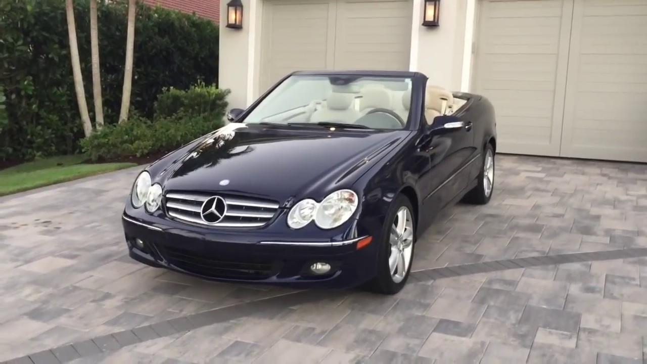 2008 Mercedes Benz Clk 350 Convertible Review And Test Drive By Bill Auto Europa Naples Youtube