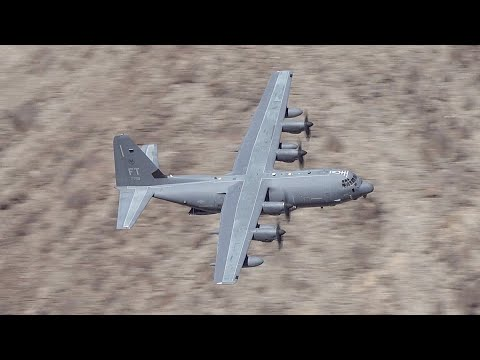 LOW flying USAF