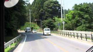 JR東日本 大船渡線BRT 前面展望 奇跡の一本松~長部 2013/08/16
