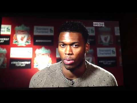 Daniel sturridge on signing for LFC..