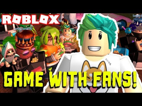 ROBLOX PLAYING WITH FANS! VIP SERVERS & MORE RANDOM GAMES! Roblox LIVE STREAM!