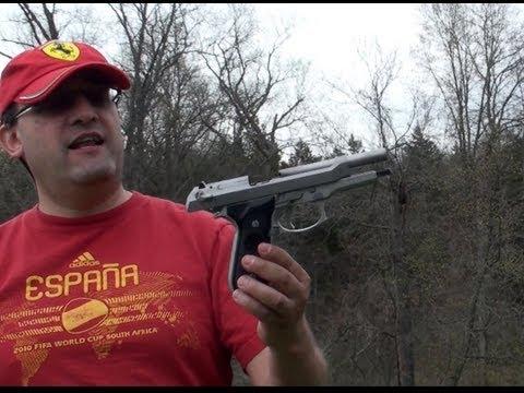Beretta 92 FS Inox, en Español, Una Pistola Impresionante; Saludos a España