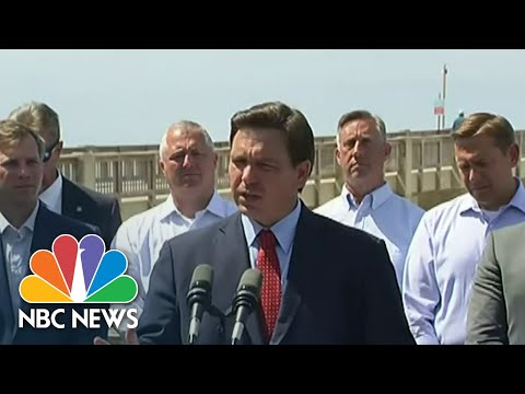 Florida Governor Signs Controversial Voting Bill   NBC Nightly News
