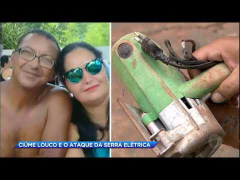 Homem com ciúmes doentio ataca a mulher com serra elétrica e depois se mata