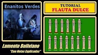 Lamento Boliviano en Flauta