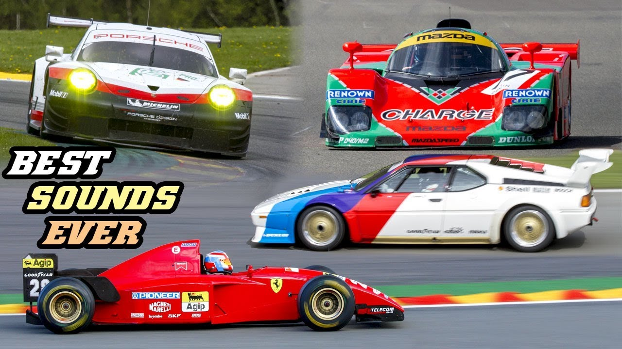BEST SOUNDING RACECARS EVER (1000th upload special) - YouTube