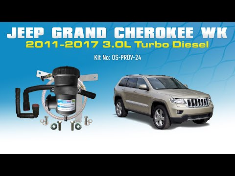 Prov 24 Provent Installation Jeep Grand Cherokee 2011 On 3 0l Wk
