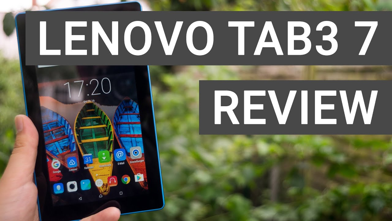Lenovo Tab3 7 Essential - Review