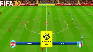 FIFA 20 Liverpool vs Italy Super Ligue 1 Full Match Gameplay