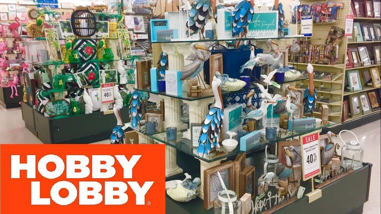 Hobby Lobby Beach House Decorations