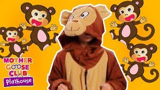 Five Little Monkeys + More | Mother Goose Club Playhouse