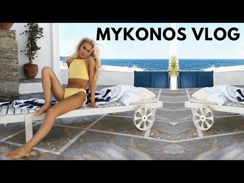 Mykonos Vlog - Day 2 - Holiday Makeup