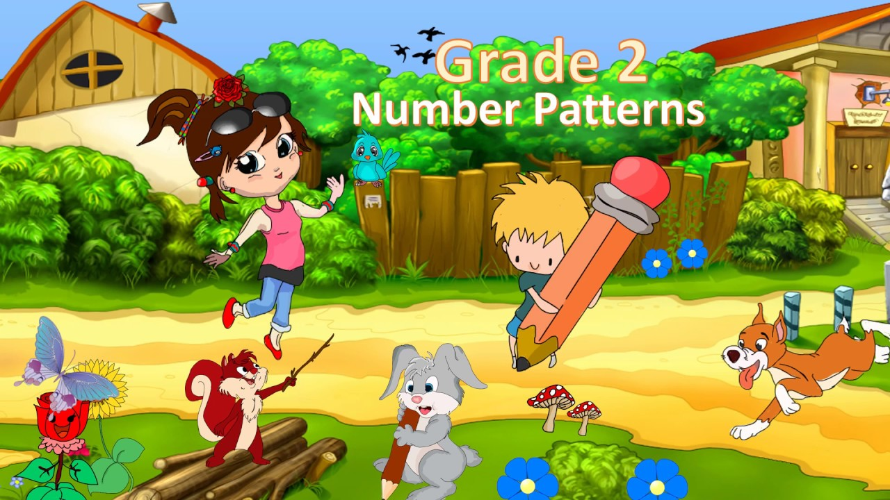 Number Patterns for Grade 2 - YouTube