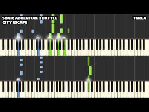 Sonic Adventure 2 (Battle) - City Escape - Awesome for Piano