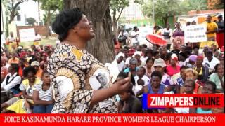 WOMEN'S  LEAGUE DEMO AGAINST SANDI MOYO AND SARAH MAHOKA
