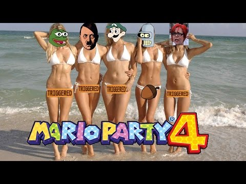 Let's play Mario Party 4/Koopa's Seaside Trigger land/Part 10.