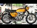 "1970 Honda CB750 FOUR ""Candy Gold"" 