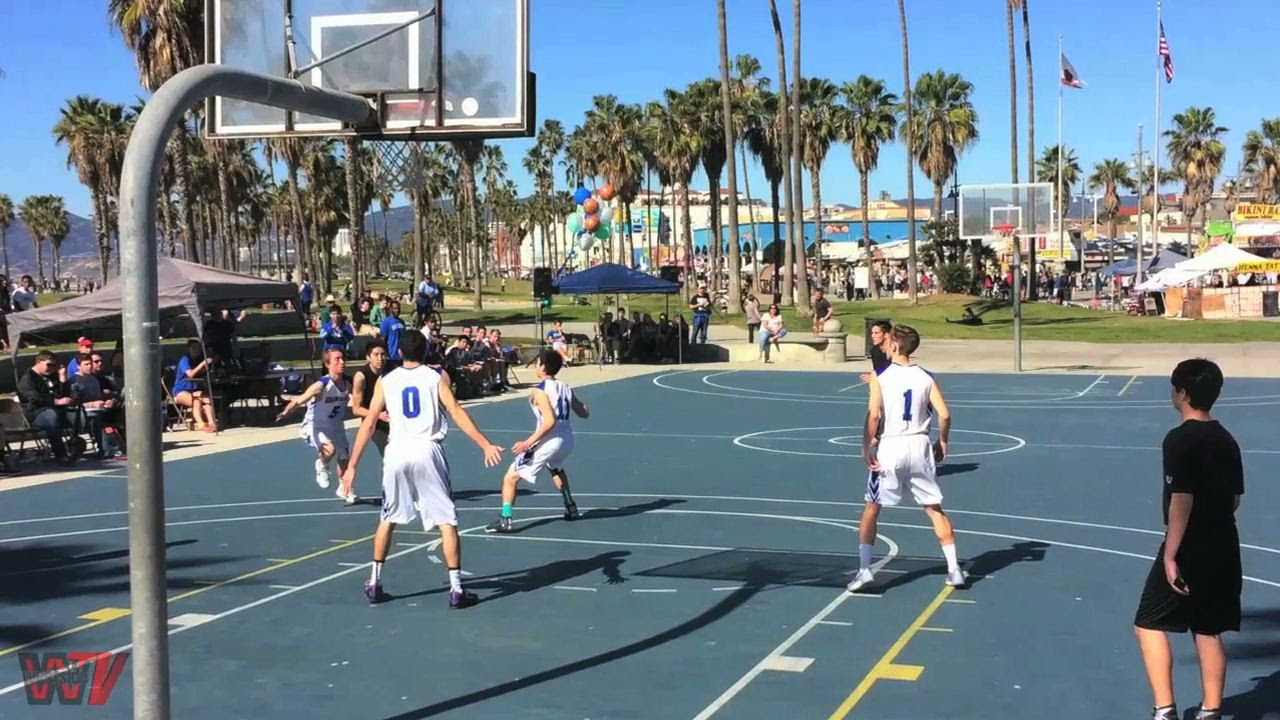Pacifica High School Maintains Tradition Of League At Venice Beach Basketball Courts