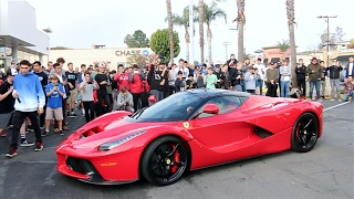 LA FERRARI STEALS THE SHOW! Cops Ruin All the Fun..
