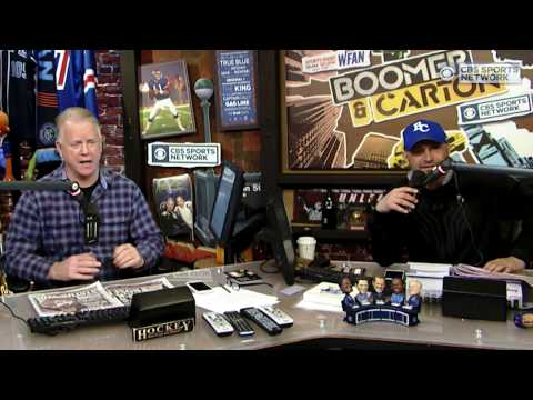 Boomer and Carton: LeBron James laid out by Draymond Green