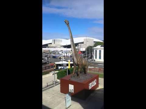 Huge Dinosaur near brisbane museum