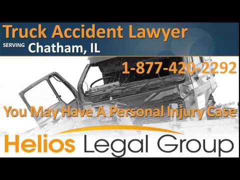 Chatham Truck Accident Lawyer & Attorney - Illinois