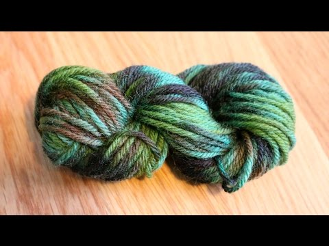 Overdyeing Commercially Dyed Yarn with Food Coloring