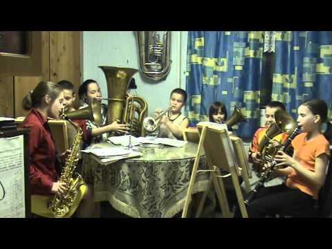 THE ALEKSEYEVS are playing  Farewell of Slavianka
