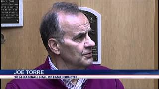 Joe Torre takes Hall of Fame tour