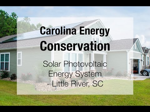 Solar PV Energy System in Little River, SC