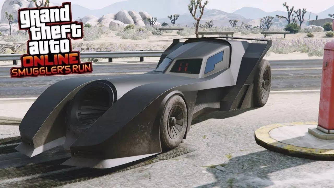 قراند 5 سيارة باتمان الجديدة Gta V Batman Car Youtube