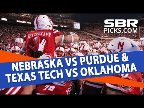 Man vs Machine | Nebraska vs Purdue & Texas Tech vs Oklahoma | Free College Football Picks