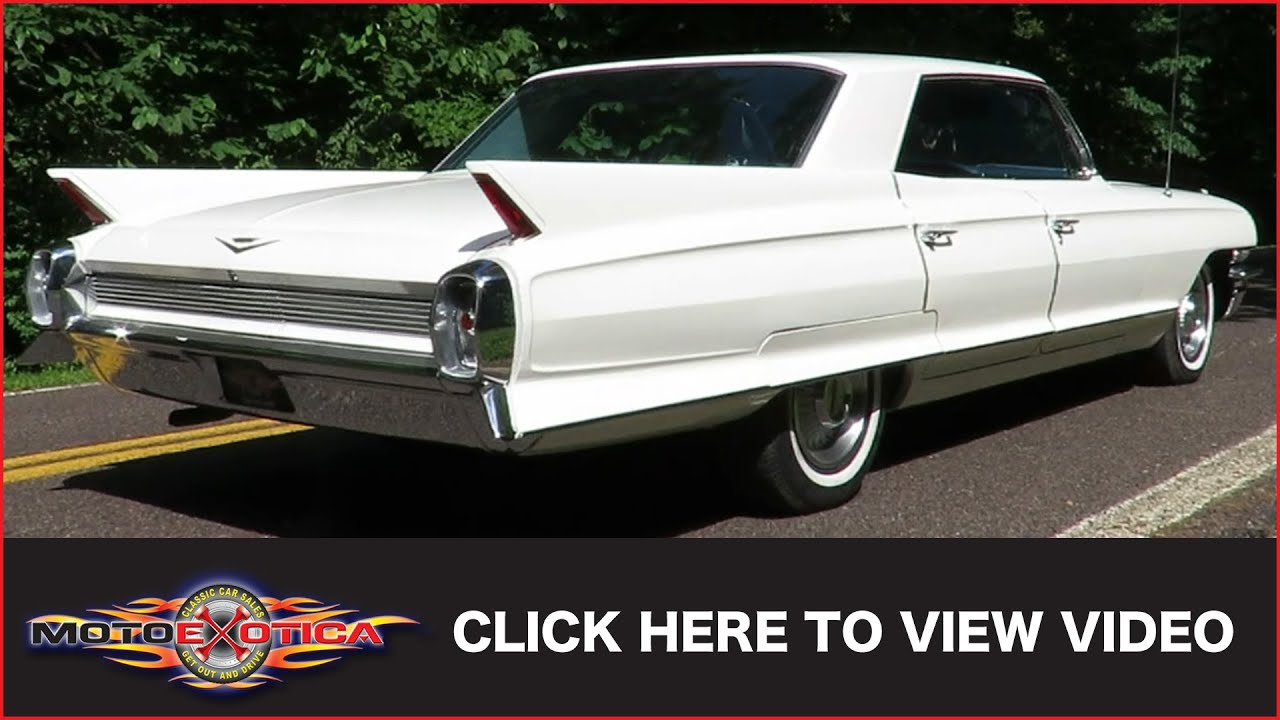 1962 Cadillac Series 62 Hardtop (SOLD) - YouTube