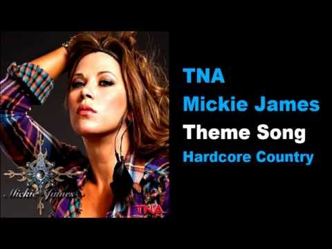 TNA Mickie James Theme Song - Hardcore Country