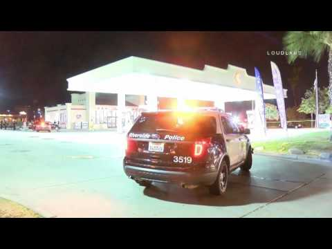 Fatal Shooting Outside Gas Station / Riverside  RAW FOOTAGE