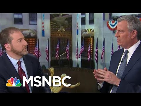 De Blasio: 'For A Lot Of People' Coronavirus Is 'Manageable' | MTP Daily | MSNBC