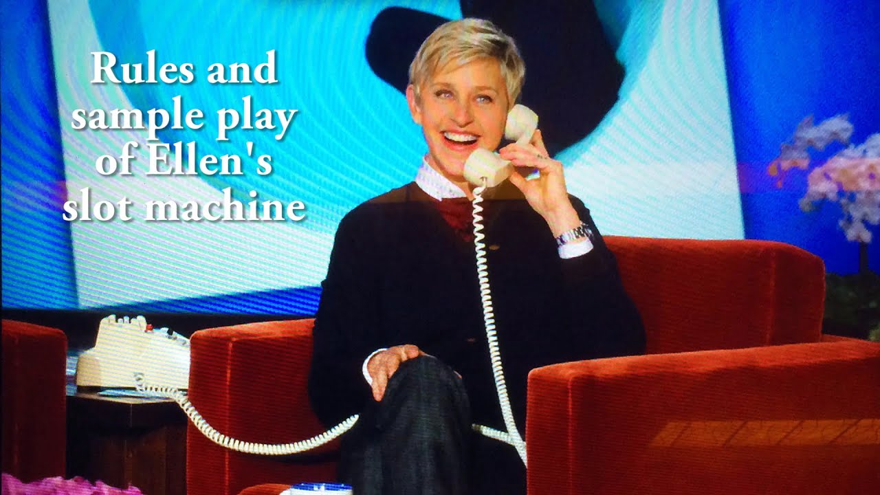 New Ellen Degeneres Slot Machine Released by IGT
