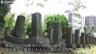 eye:戦争犠牲者の記憶 大阪・旧真田山陸軍墓地