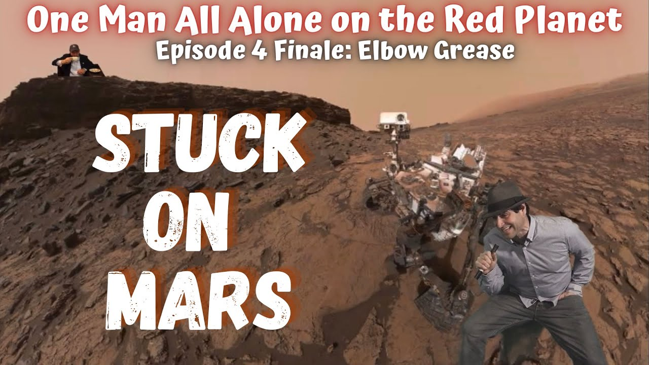 Stuck on Mars! Episode 4 Finale!! I think I found an Alien Race...