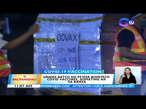 193K Pfizer-BioNTech COVID-19 vaccine doses arrive in Philippines | BT