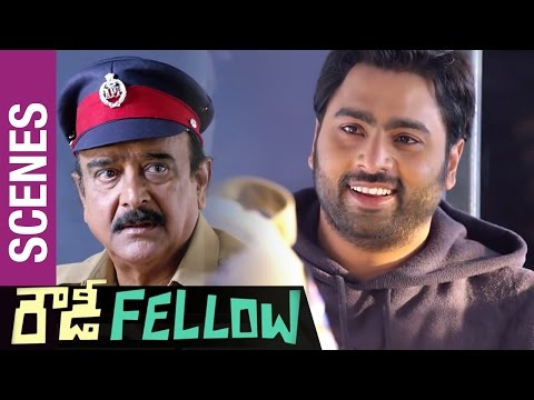Rowdy Fellow Movie Scenes | Paruchuri Venkateswara Rao Teaching the Lessons of Life to Nara Rohit