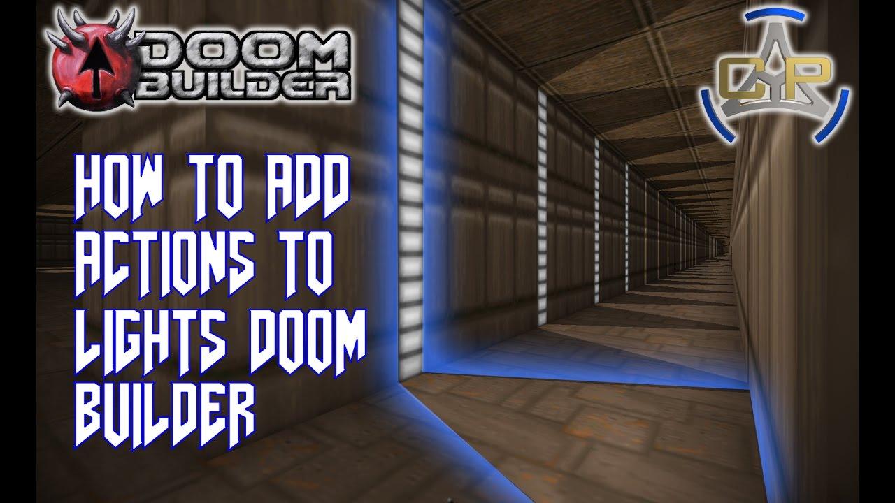 8 Diffrent Action effects on Lights Doom Builder