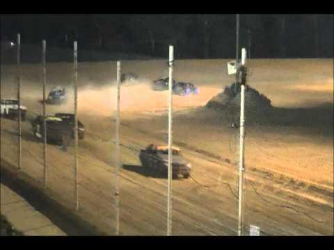 Street Stock Feature Race, Northwest Florida Speedway, 7/26/2013