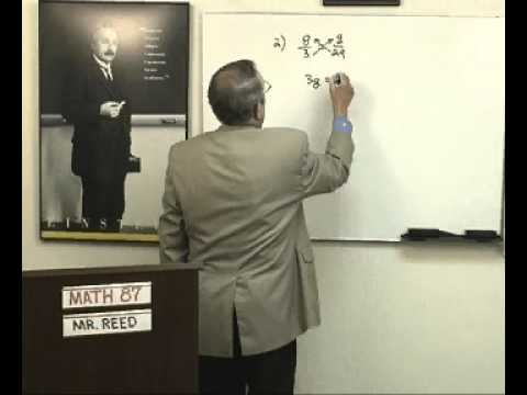Art Reed and John Saxon's Math 87, 2nd or 3rd Ed, Lesson 39