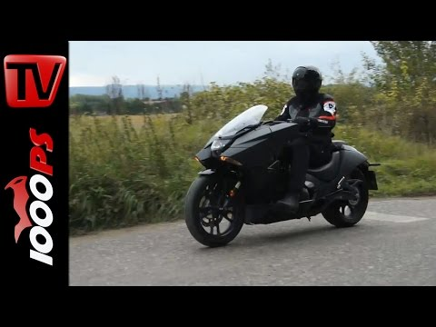 Honda NM4 Vultus - Testvideo | Action, Technik, Details