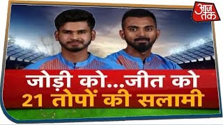T20 वर्ल्ड कप की तूफानी तैयारी शुरू, Iyer-Rahul के धमाके से दहला New Zealand