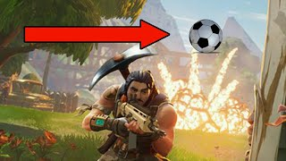 TYPICAL GAMER FOOTBALL/SOCCER IN FORTNITE!!!!!