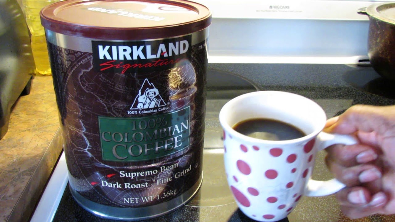 Kirkland Signature 100 Columbian Supremo Coffee Review